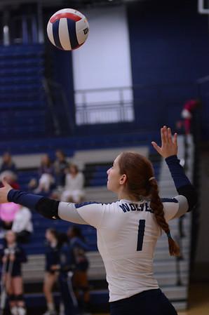 OE Girls Varsity Volleyball 2014