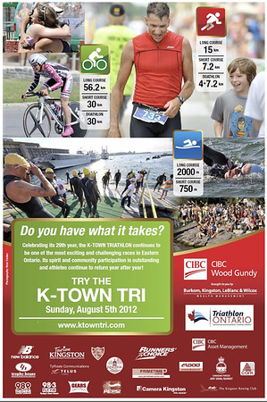 Poster for 2012 K-Town Tri