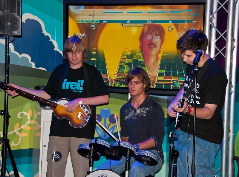 Rock Band: The Beatles at GamesCom