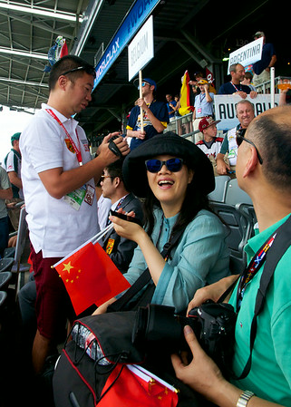 Family and Friends of Team China