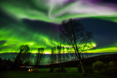Awesome Aurora Display