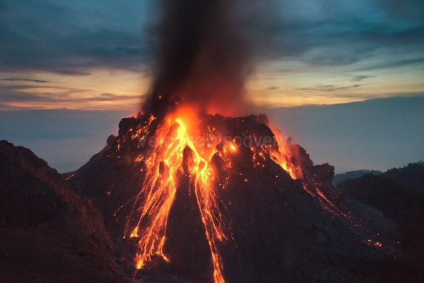 Paluweh volcano, Indonesia