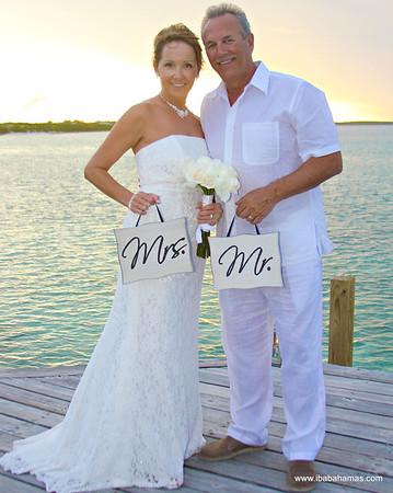 Ernie & Teri |  Destination Wedding | Turquoise Cay Resort | Exuma, Bahamas