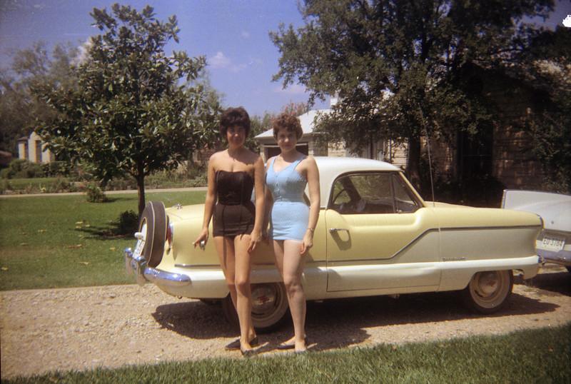Darla, a friend and a 1959 Metropolitan