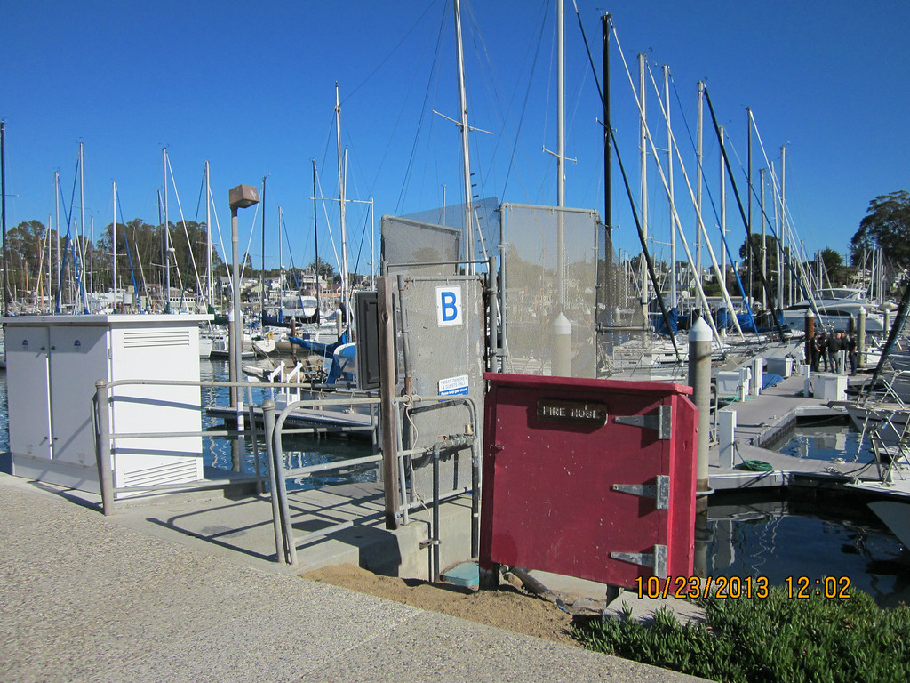 . Police said Forrest Hayes of Santa Cruz was killed by a heroin injection from a call girl on his 50-foot yacht, Escape, pictured at the Santa Cruz Small Craft Harbor in November. (Contributed)