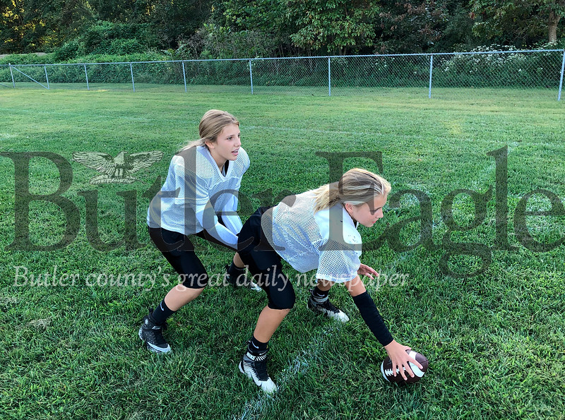 Girl Football Players