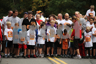 Tolland Cider Mill Family Fun Run 092912