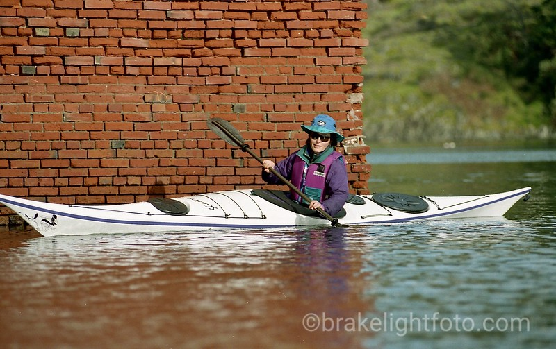 Kayaker at Cole Harbour National Historic Site