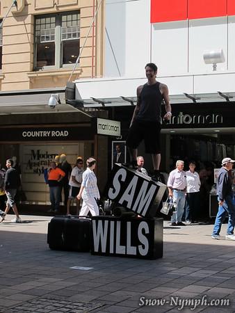 2011 (Feb 21) Rundle Street shows, Adelaide, South Australia, AU