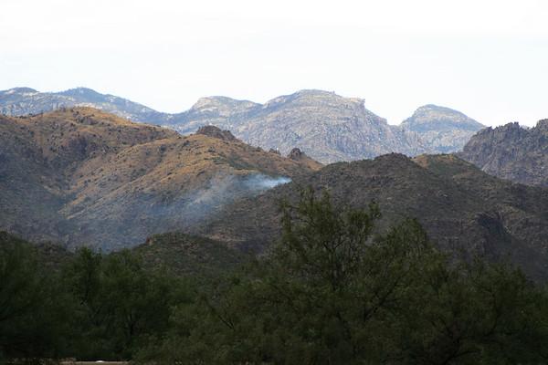 2006 Sabino Canyon - Small Fire