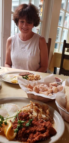 Breakfast at Rancho Chimayo