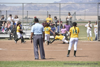 PVHS JV Softball vs Central HS 2018