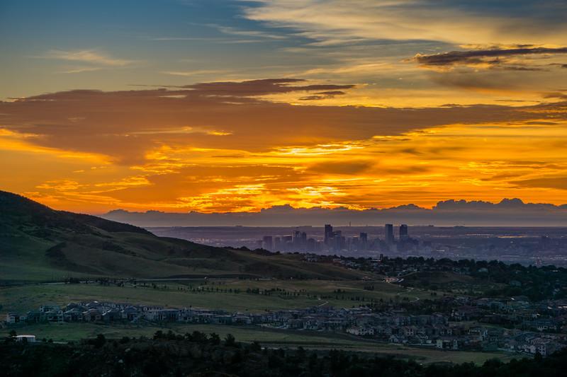 Sunrise - Denver, Colorado