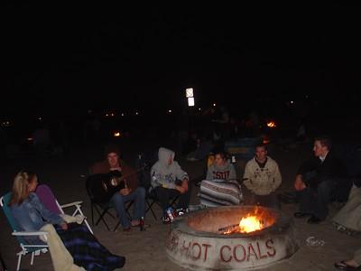 Bonfires 2005