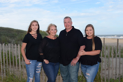 O'Connor Family Beach Portraits July 23, 2018