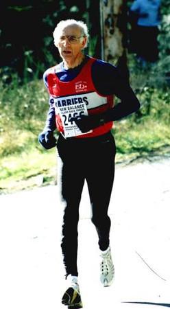 2002 Hatley Castle 8K - Maurice Tarrant wins his age group again
