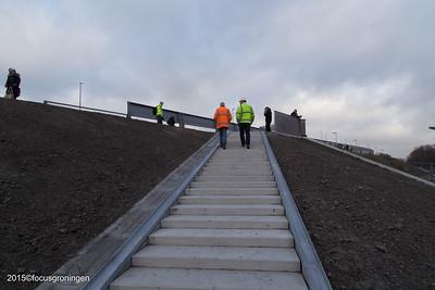 groningen-de hoogte-opening fietspad noordzeebrug