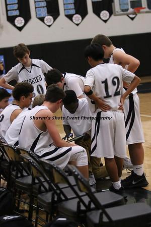 Boys Freshman Basketball v WS 2017