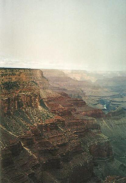 Southern Rim Canyon View