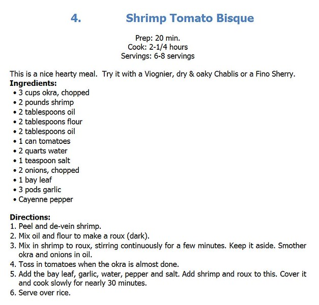 Shrimp Tomato Bisque