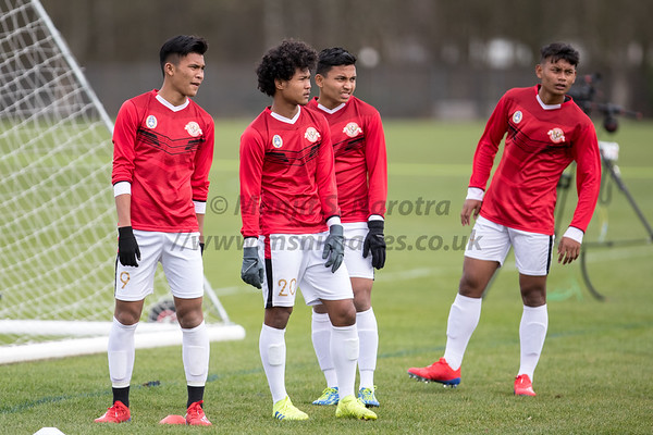 Garuda Select XI vs QPR U18's' 5th March 2019