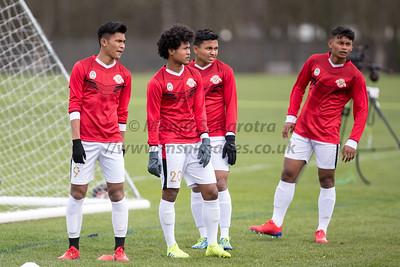 Garuda Select XI vs QPR U18's' 5th March 2019