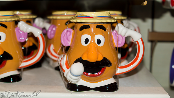 Disneyland Resort, Disneyland, Main Street USA, China Closet, Mr Potato Head, Mug, Cup