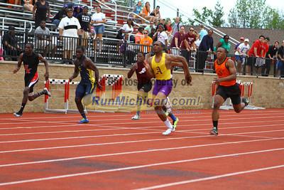 D1 Boys 100M Finals - 2013 MHSAA LP Track and Field Finals