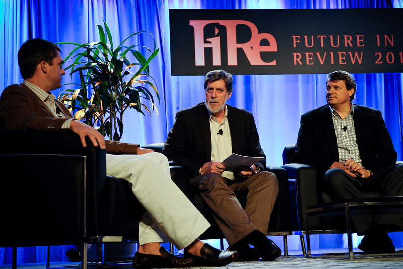 "At the elegant Montage Resort in Laguna Beach California, 200 ""thought leaders"" -- high technology engineers and executives, entrepreneurs, scientists and media professionals gathered for three and half days to participate in the Future in Review 2011 conference presented by the Strategic News Service (SNS) and led by SNS founder, technology visionary and environmental activist Mark Anderson. Lectures, panel discussions and informal conversations covered a broad range of topics, from cyber-security to CO2 and global climate change to health care policy and medical diagnosis to international investing."