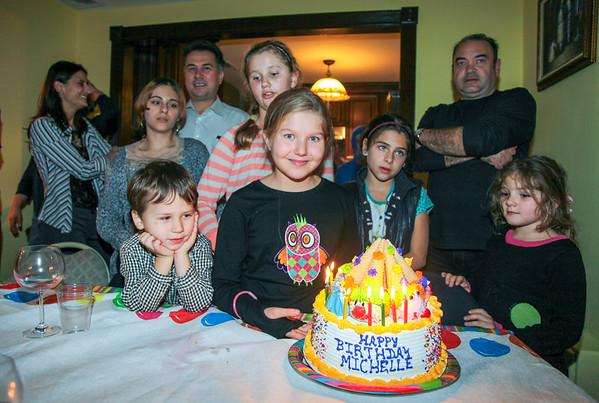 Michelle, 10 Years Celebration - November, 2013