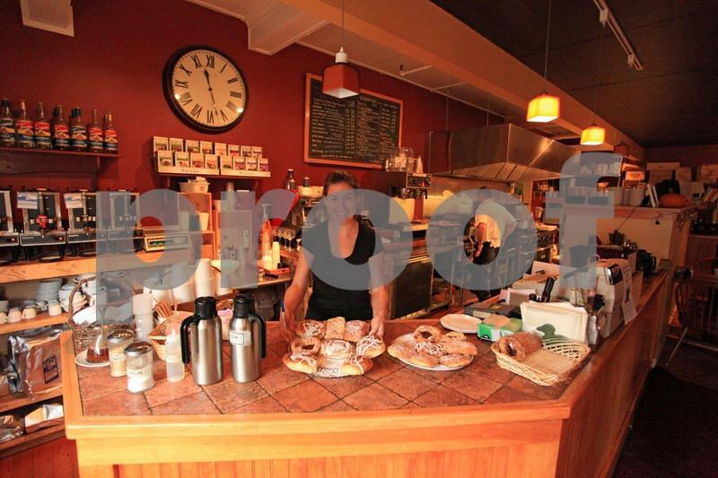 Southwest Harbor at Sips Café