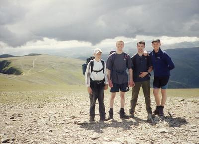 2000-08-28 Venture Hike over Striding Edge