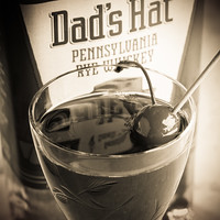 Dad's Hat Brooklyn Cocktail (detail), photo © 2018 Douglas M. Ford. All rights reserved.