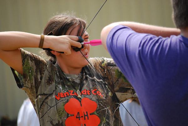 Archery practice 091513