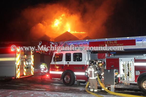 2/21/20 - Onondaga house fire, 4322 S Onondaga Rd