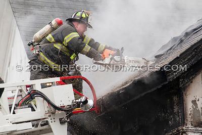 Derby Ave. Fire (Derby, CT) 5/9/13