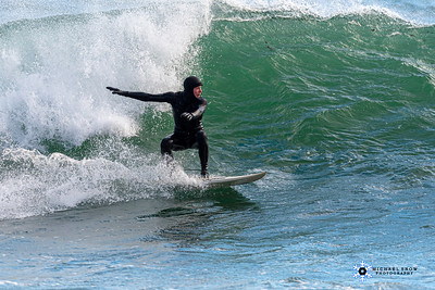 Surfing Peggotty 2-12-20