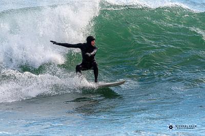 Surfing Peggotty 2-12-20