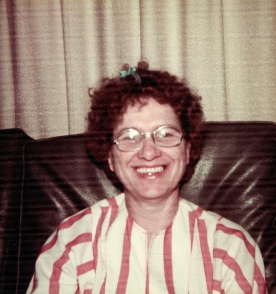 Maria Smock April 1977