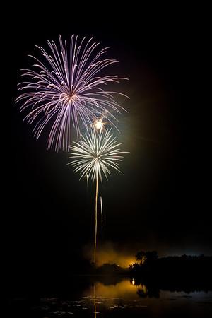 Groveland Fireworks 2012