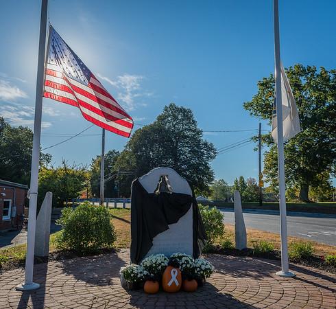 Active Duty Funeral; Devens Lt Rick Stevens