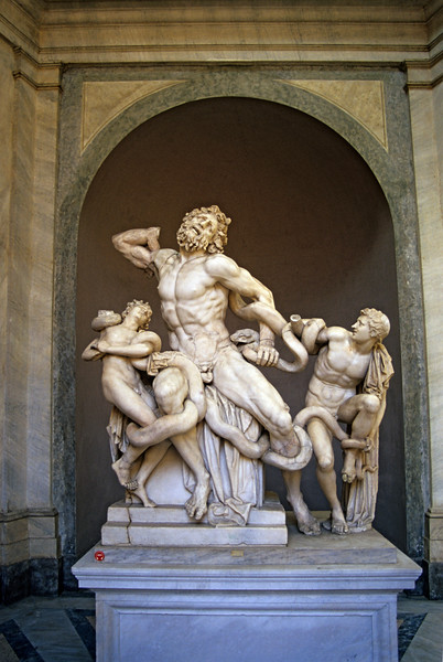 Laocoon and His Sons, Vatican Museum, Rome