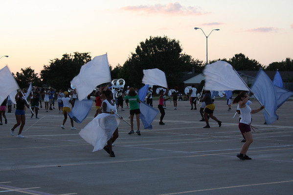 MARCHING BAND CAMP-August 18, 2009