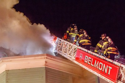 3 Alarm Structure Fire - 52 Grove St, Belmont, MA - 2/26/17