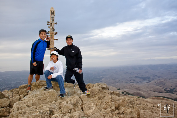 Mission Peak With Andrew and Greg