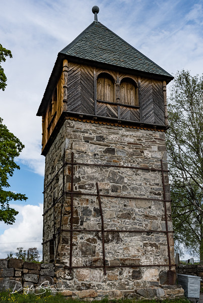 Medieval stone tower, original purpose is unknown