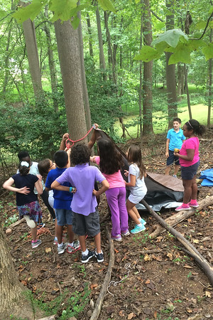 Learning a New Skill: Shelter Building!