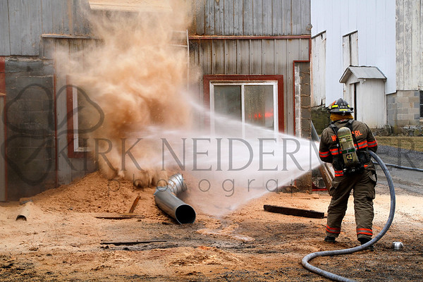 03.25.15 West Earl Dust Collector Fire