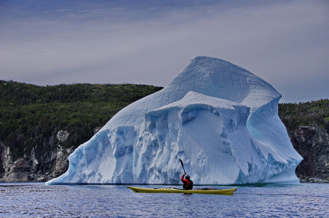 Looking for an awesome Canadian outdoor adventure? Try kayaking with Icebergs in Twillingate.