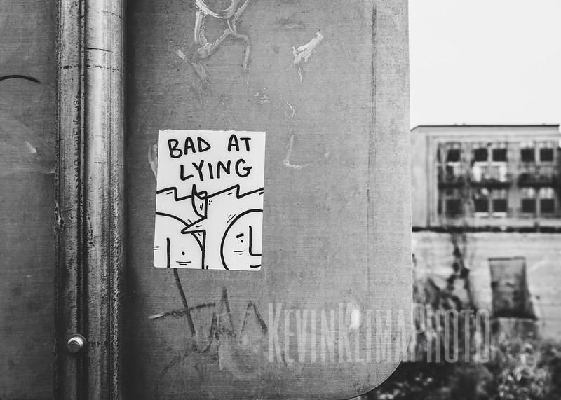 Bad at Lying